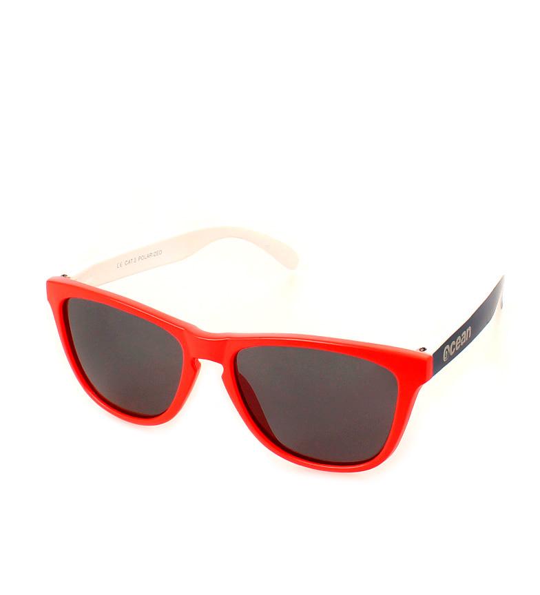 Comprar Ocean Sunglasses Sunglasses Be red, blue and matt white