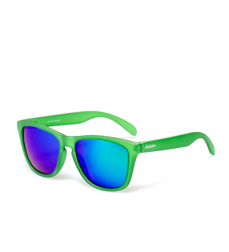 Comprar Ocean Sunglasses Óculos de Sol Seja mate transparente verde