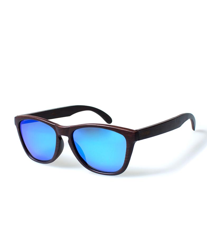 Comprar Ocean Sunglasses Sea occhiali da sole di legno marrone scuro