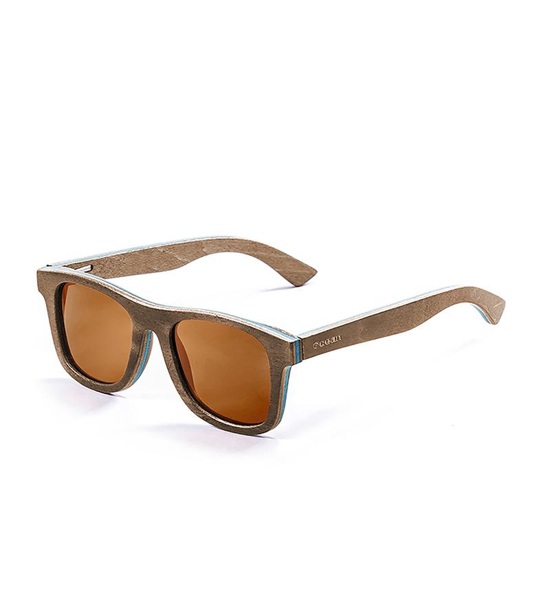 Comprar Ocean Sunglasses Occhiali da sole Venice Beach in legno, blu