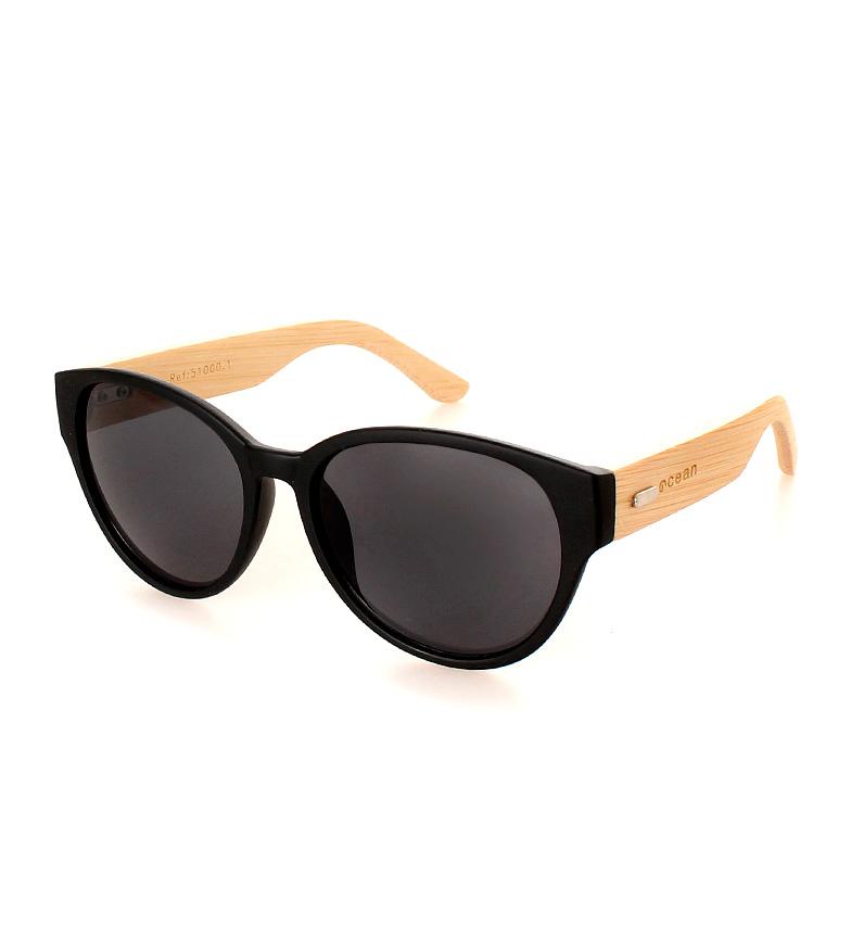 Comprar Ocean Sunglasses Wailua lunettes de soleil noir mat, bois naturel