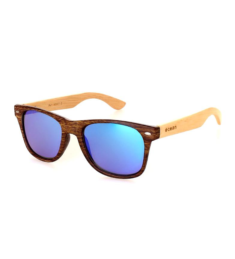 Comprar Ocean Sunglasses Waipahu lunettes de soleil bois brun, naturel