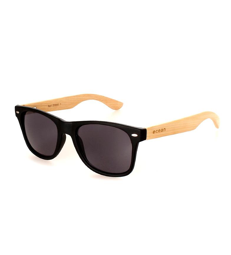 Comprar Ocean Sunglasses Black Matte Waipahu sunglasses, natural wood