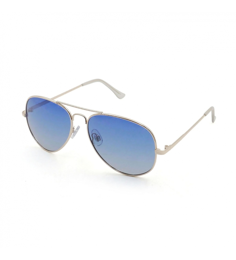 Comprar Ocean Sunglasses Gafas de sol Bonila Aviator dorado brillo, azul