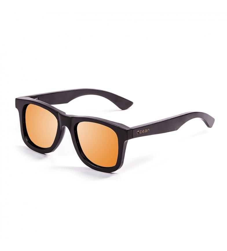 Comprar Ocean Sunglasses Gafas de sol Kenedy bambú negro, naranja