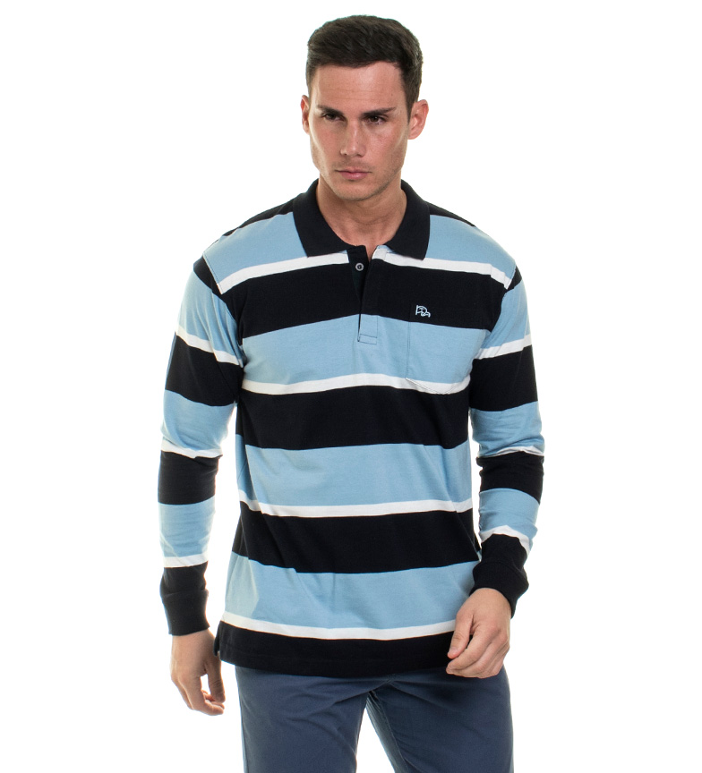 Comprar Old Taylor Benson Polo Blue