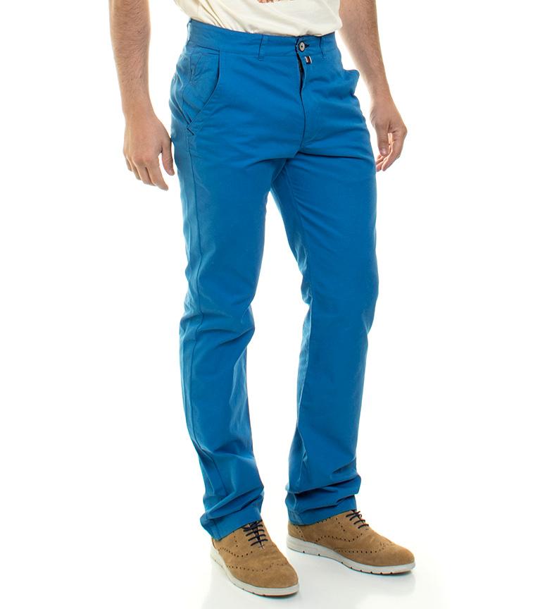 Gamle Taylor Pantalones Ricks Azul utløp rimelig qrGpWn