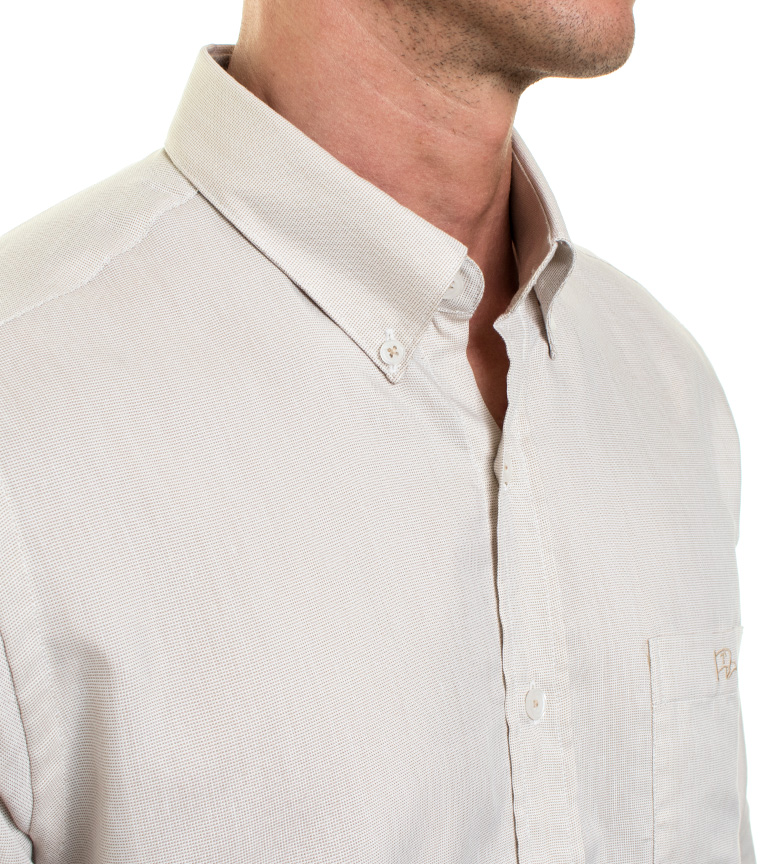 Old Taylor Camisa Froid beige