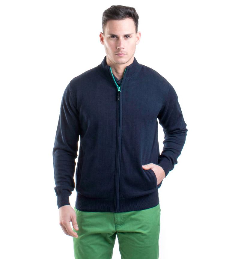 Comprar Old Taylor Knitted jacket Orosco marino