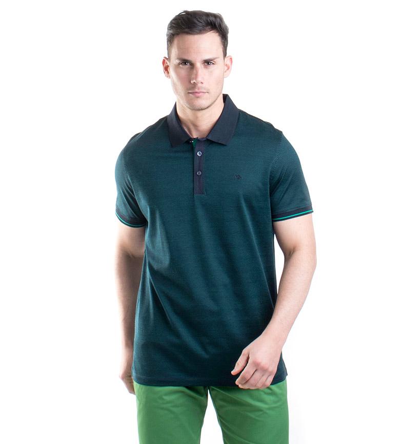 Comprar Old Taylor Camisa pólo verde Owen