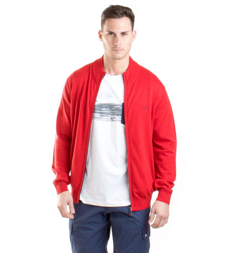 Comprar Old Taylor Homer red knit jacket