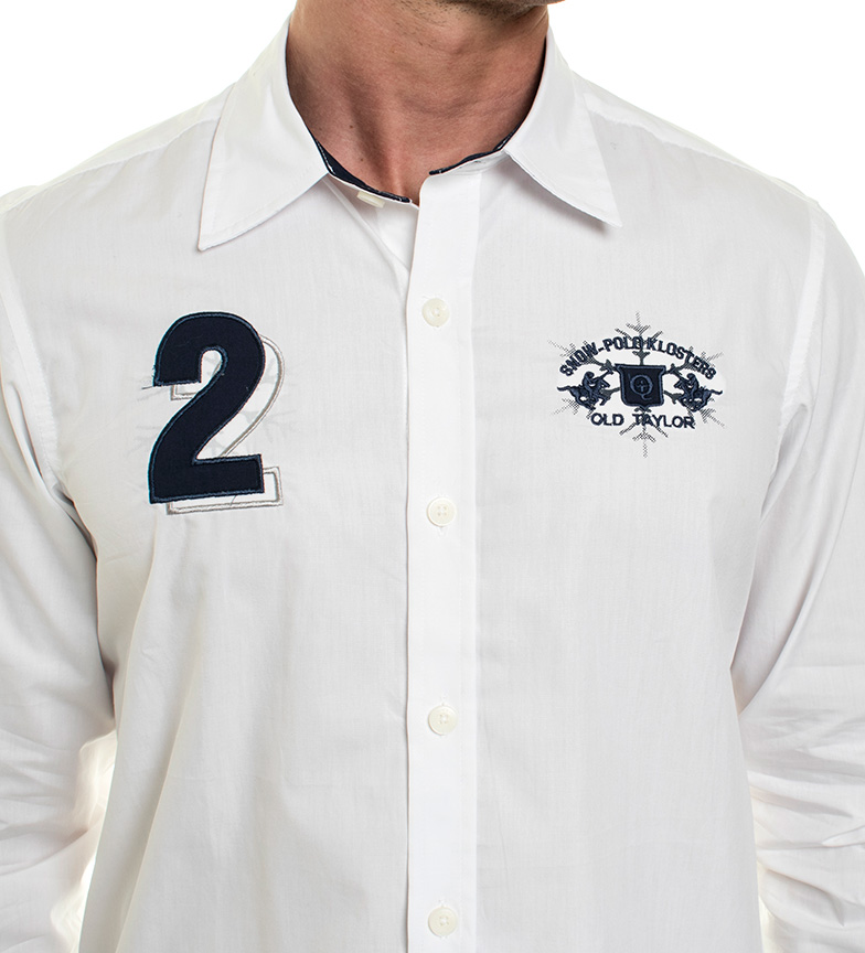 Old Taylor Camisa Enry blanco