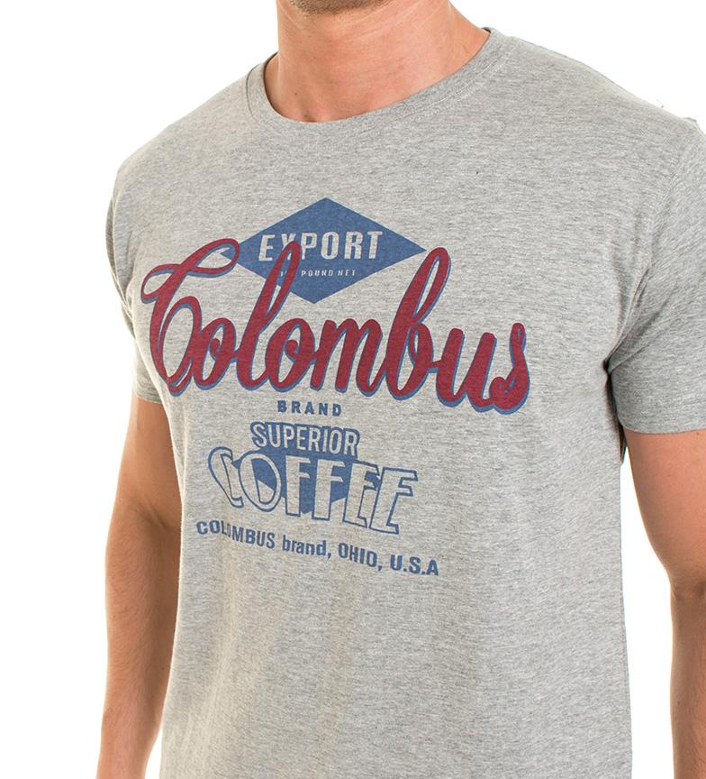 gris Old Camiseta jaspeado Taylor Joss ttqnrTOwF