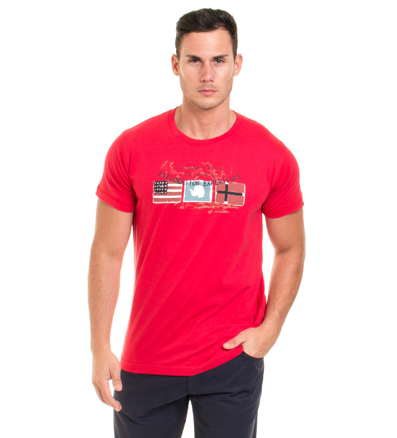 Old Taylor Camiseta Marcus rojo