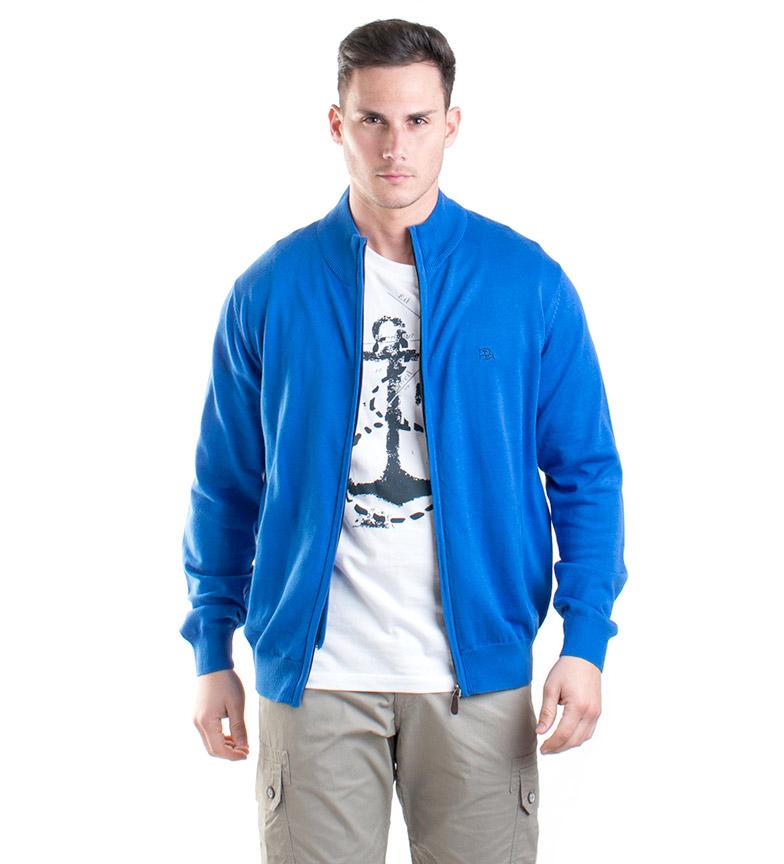 Comprar Old Taylor Dion knit jacket blue