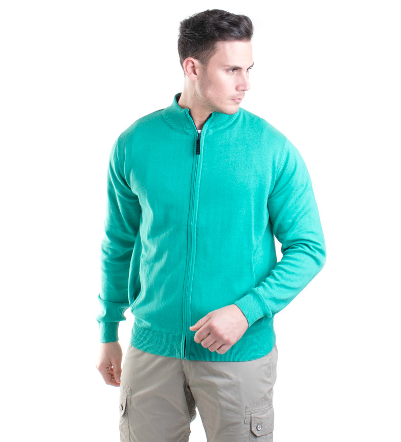 Comprar Old Taylor Knitted jacket Orosco green