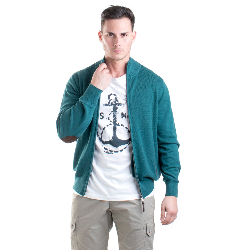 Comprar Old Taylor Giacca in maglia Tyler verde