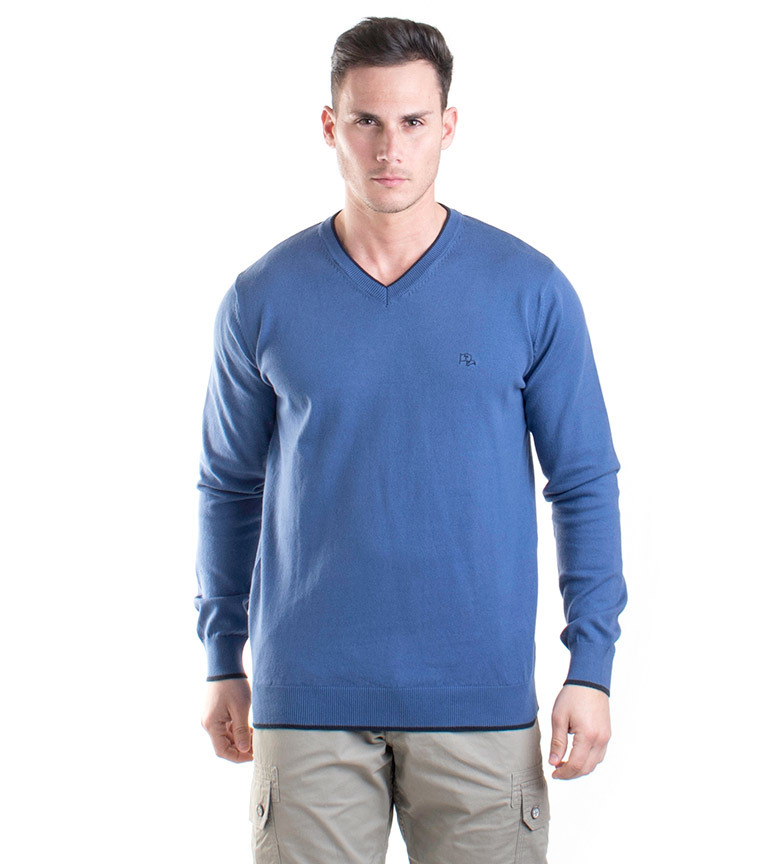 Comprar Old Taylor Gil indigo sweater