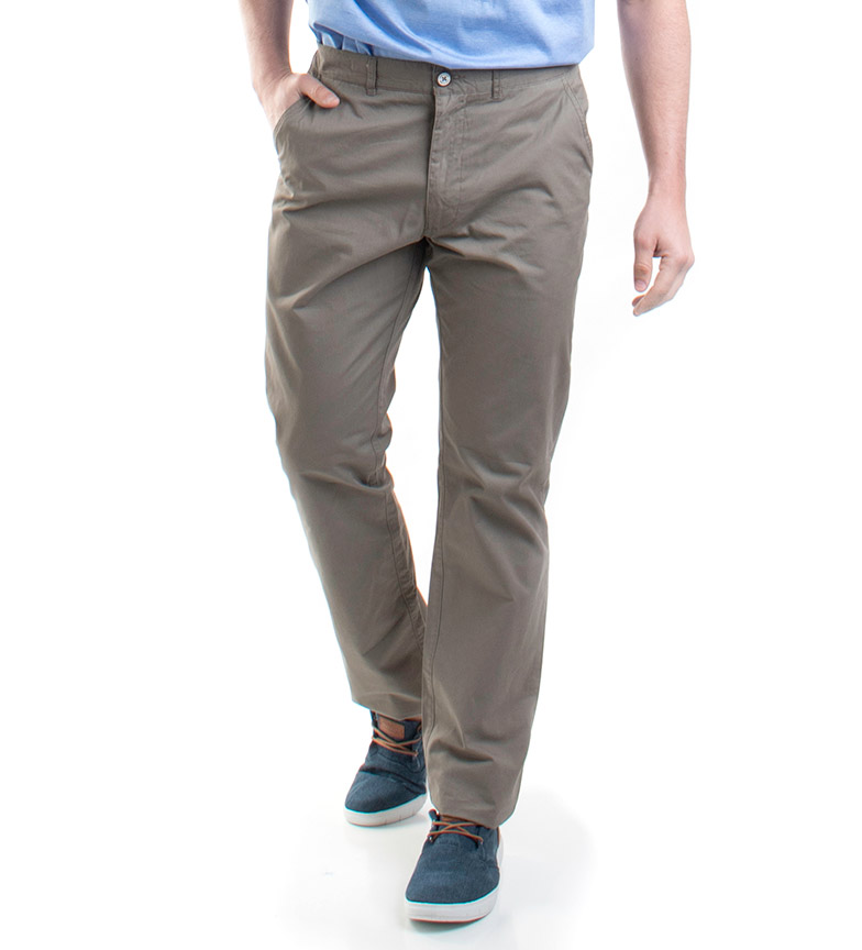 Comprar Old Taylor Pantaloni Osian taupe