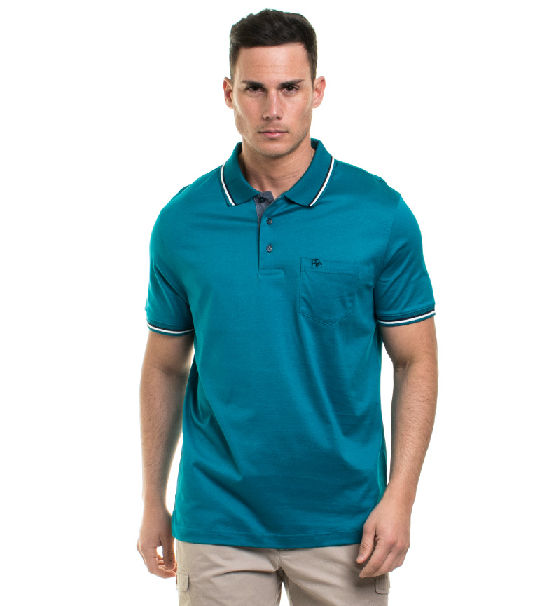 Old Taylor - Gian Polo Turquoise Homme Bleu