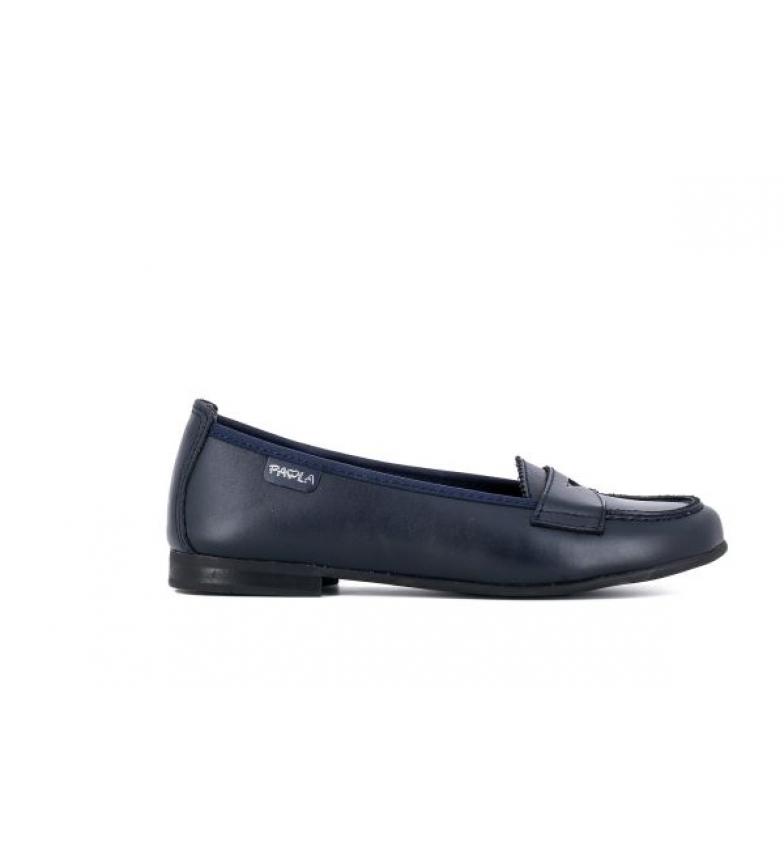 Pablosky Bailarina de couro azul 844510