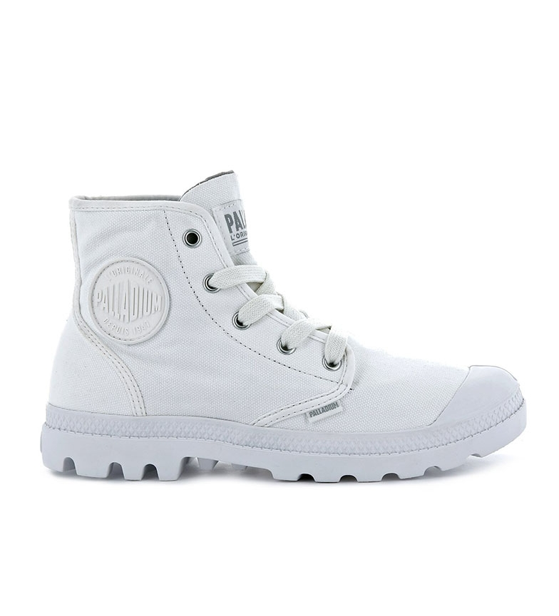 Comprar Palladium Zapatillas Pampa Hi Vetiver blanco