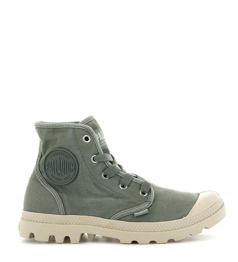 Comprar Palladium Pampa Hi Vetiver green shoes