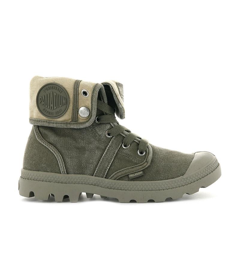 Comprar Palladium Chaussures Baggy Pallabrousse vert