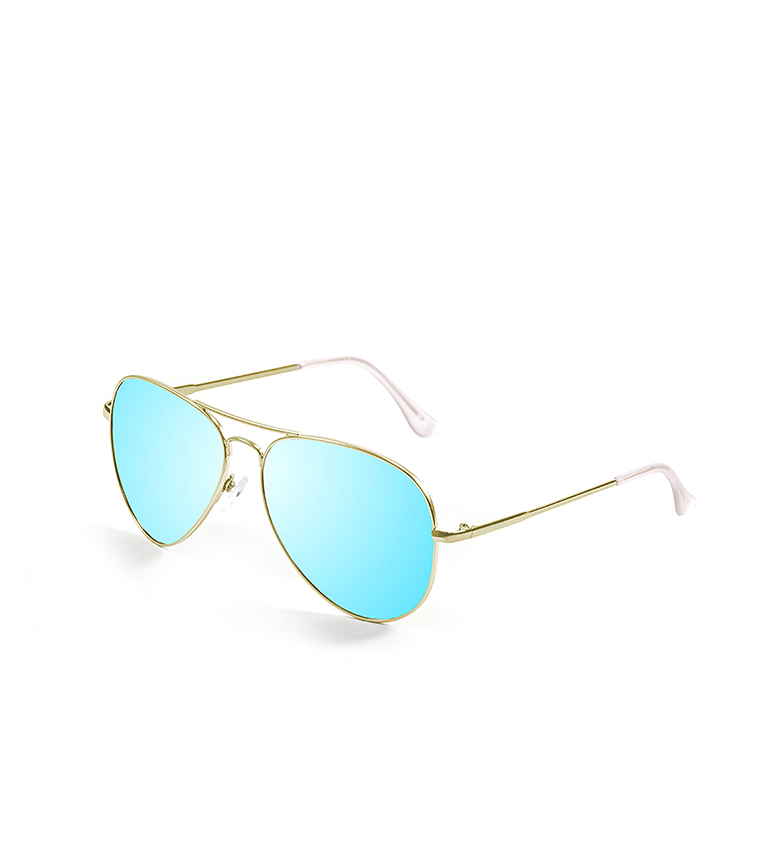 Comprar PALOALTO Chelsea sunglasses gold, blue -Polarized-