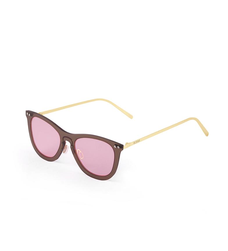 Comprar PALOALTO Occhiali da sole Arles, marrone, rosa -Polarizzati-