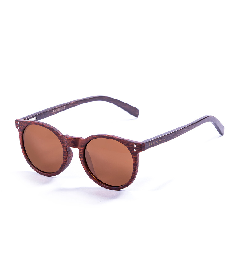 Comprar PALOALTO Gafas de sol Hashbury bambú avellana, marrón