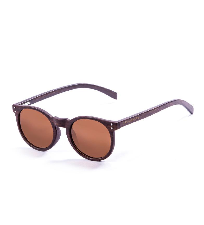 Comprar PALOALTO Gafas de sol Hashbury bambú marrón oscuro