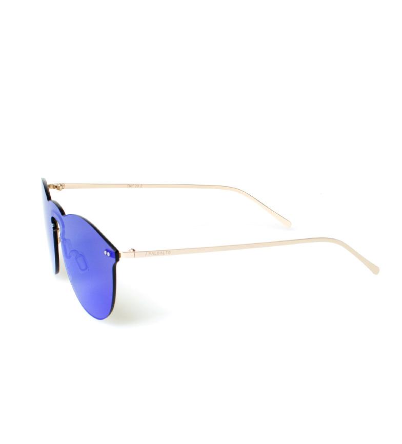 PALOALTO Gafas de sol Helsinki navy metalizado