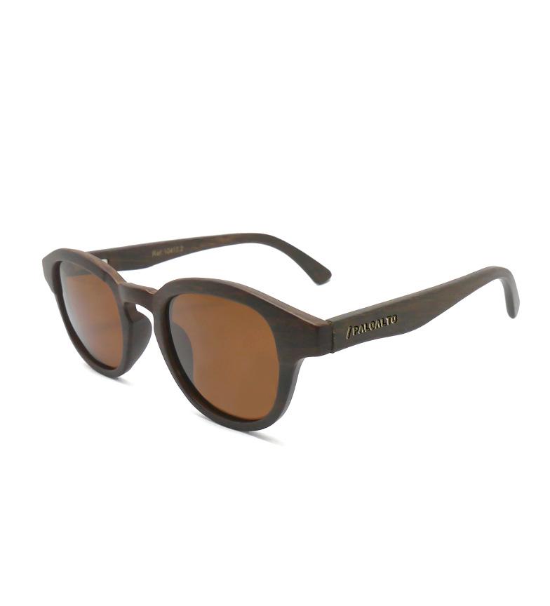 Comprar PALOALTO Laguna Beach occhiali da sole di bambù marrone scuro