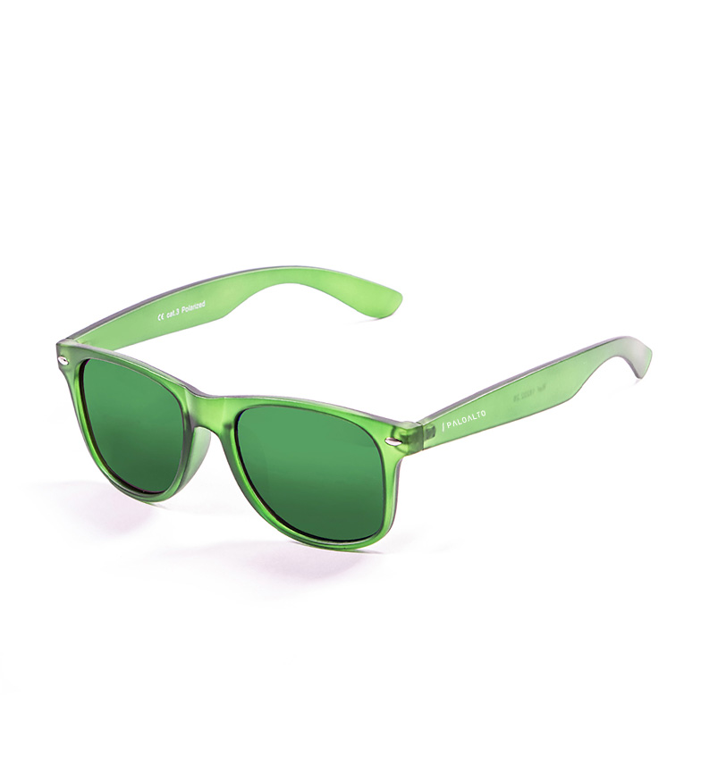 Comprar PALOALTO Gafas de sol Lombard verde mate transparente