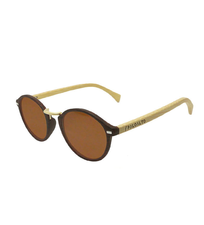 Comprar PALOALTO Maryland Wood Sunglasses bamboo dark brown, natural
