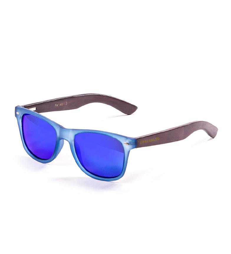 Comprar PALOALTO Gafas de sol Nob Hill azul transparente, bambú marrón