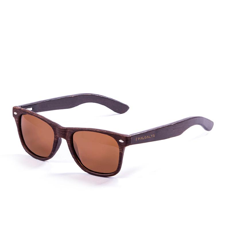 Comprar PALOALTO Nob Hill occhiali da sole di bambù marrone scuro
