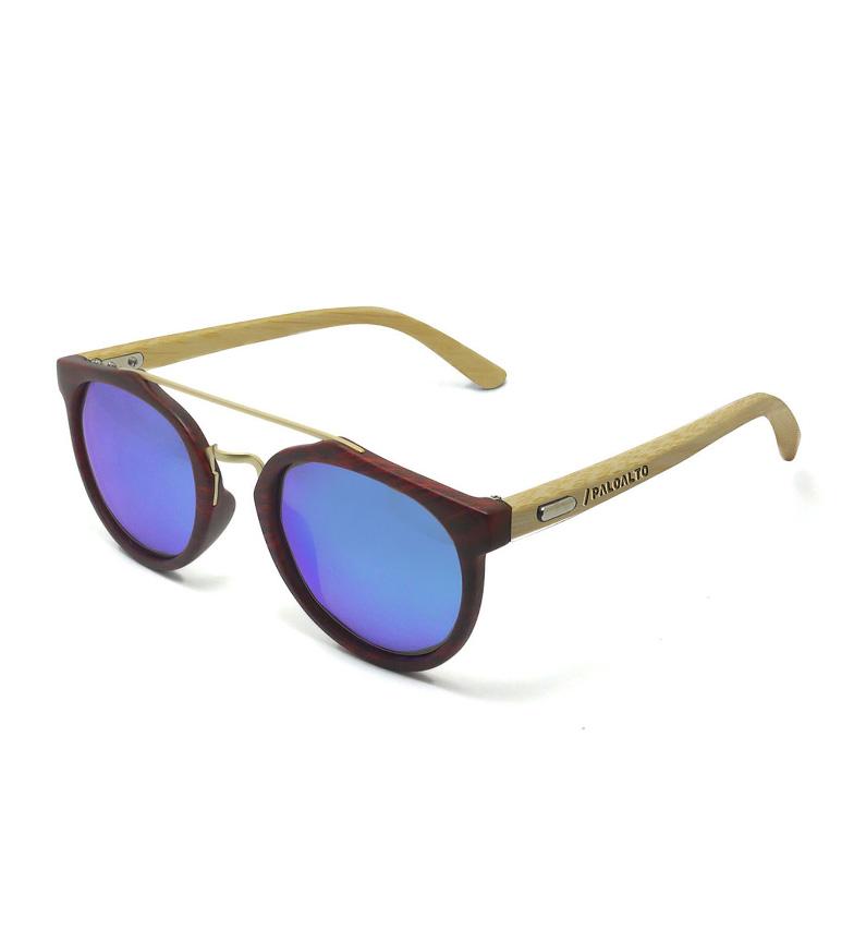 Comprar PALOALTO Richmond occhiali da sole di bambù nocciola, naturale