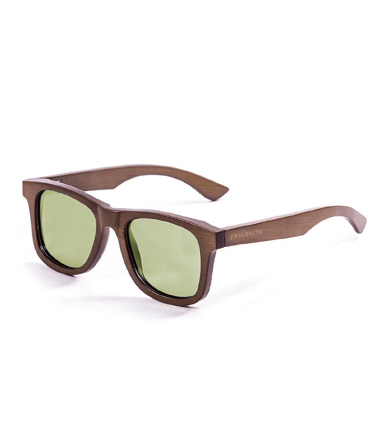 Comprar PALOALTO Marrom escuro sol de bambu óculos Sausalito