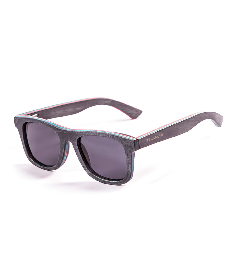 Comprar PALOALTO Occhiali da sole blu scuro cavalletti di legno