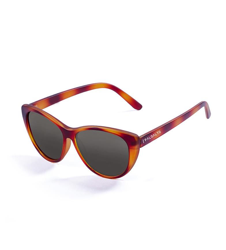 Paloalto - Gafas de sol Zurrioloa franjas rojo, marrón