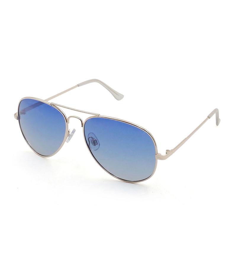 Comprar PALOALTO Gafas de sol San Diego dorado, azul oscuro -Polarizadas-