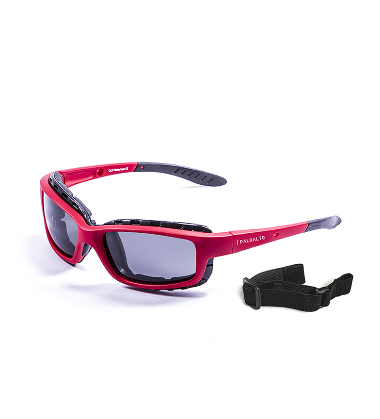 Comprar PALOALTO Santa Cruz red sunglasses -Polarized-