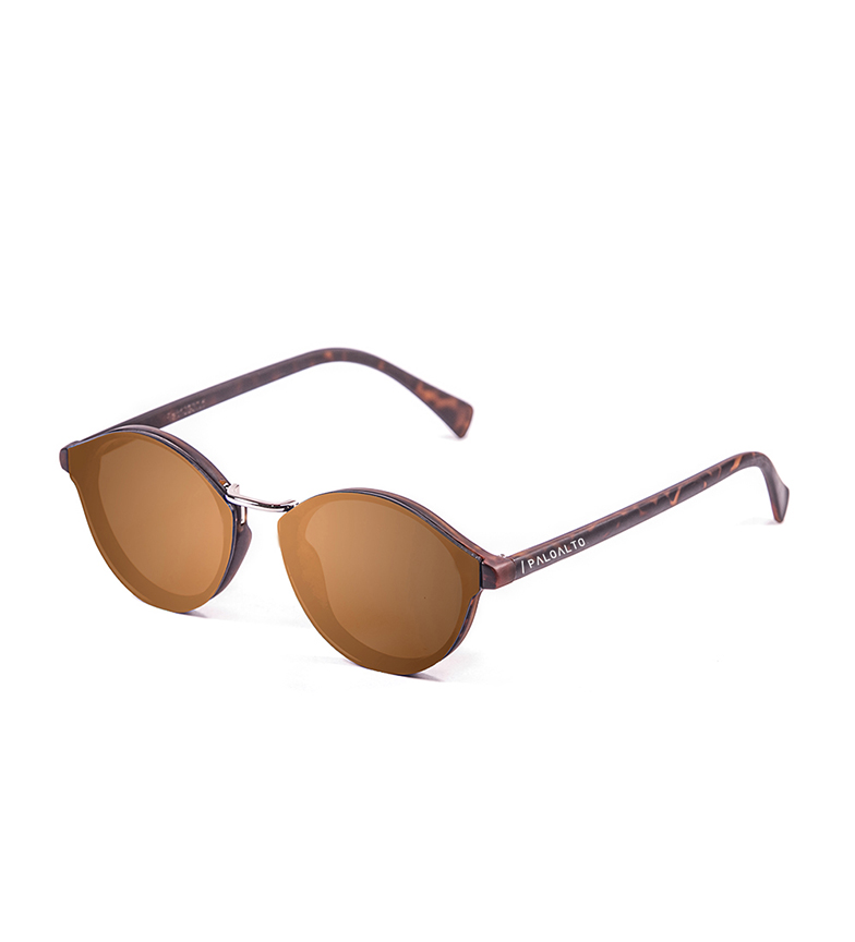Comprar PALOALTO Turin carey sunglasses, brown