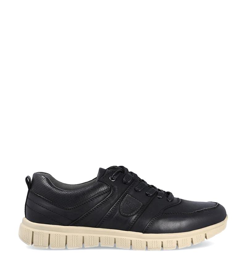 Comprar Paredes Zapatillas de piel Rocky  negro