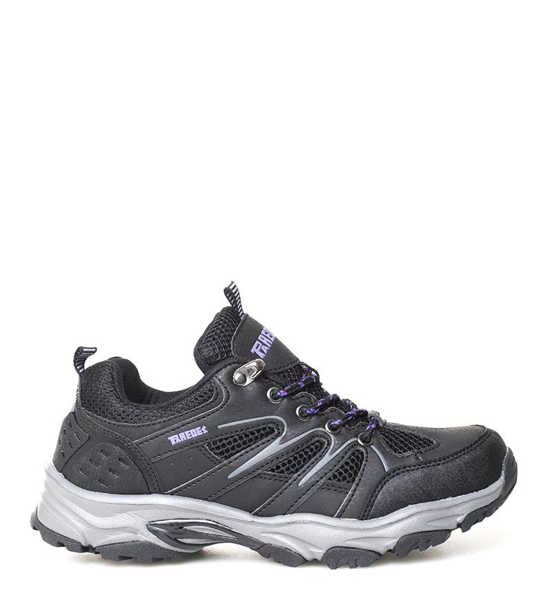 Comprar Paredes Chaussures de trekking Elena noir, citron vert