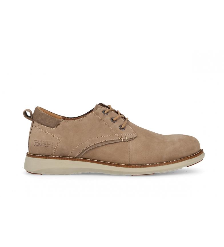 Comprar Paredes Sapatos de couro Tello bege