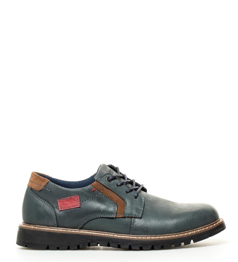 comprar paredes zapatos de piel arcadia azul tienda es