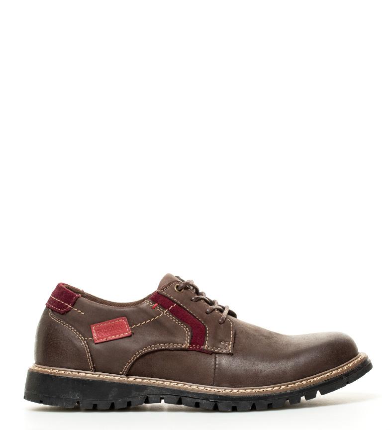 Comprar paredes zapatos de piel arcadia marr n tienda es for Paredes zapatos